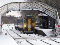 A train for Norwich calls at Brundall on a chilly December day in 2009. <br><br>[Ian Dinmore&nbsp;20/12/2009]