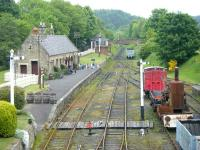 View over the station at Beamish in June 2013.<br><br>[Veronica Clibbery&nbsp;11/06/2013]