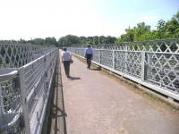 Looking across the 135m span of Bilston Glen Viaduct in July 2013.<br><br>[John Yellowlees&nbsp;08/07/2013]
