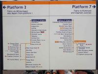 Much changed in recent years - the platform <I>Overground</I> map currently displayed at Highbury and Islington. Note the number of stations on the network providing interchange facilities with other lines.<br><br>[John Thorn&nbsp;20/07/2013]