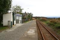 Platform view at Duirinish in September 2009, looking south west towards Kyle of Lochalsh.<br><br>[John Furnevel&nbsp;29/09/2009]