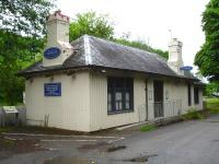 The former Dornoch Station building remains occupied and in a well maintained condition, as seen here in June 2013.<br><br>[David Pesterfield&nbsp;23/06/2013]