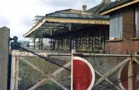 The abandoned Barnstaple Town station in 1978, some 8 years after closure.<br><br>[Ian Dinmore&nbsp;//1978]