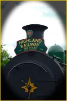 On 3 August 2013 The Strathspey Railway celebrated 150 years since the opening of the line between Aviemore and Forres. The headboard was fitted to a special train at Aviemore marking the event.<br><br>[John Gray&nbsp;03/08/2013]