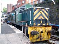 D9537 at Bury Bolton Street on 7 July during the ELR Diesel Gala.<br><br>[Colin Alexander&nbsp;06/07/2013]