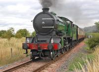 249 <I>Morayshire</I> heading west from Bo'ness  on 6 August with the 14.05 to Manuel.<br><br>[Bill Roberton&nbsp;06/08/2013]