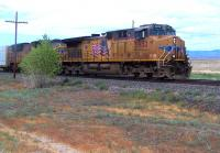 A Union Pacific freight passing Cisco, Utah, on 29 July 2013.<br><br>[Colin Alexander&nbsp;29/07/2013]