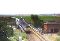 A special run in connection with the Lowestoft Air Show crosses Reedham Swing Bridge on 27 July 2006. [See image 44422]<br><br>[Ian Dinmore&nbsp;27/07/2006]