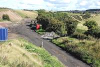 View south towards Borthwick Bank on 14 September 2013. [See image 42107]<br><br>[Bill Roberton&nbsp;14/09/2013]