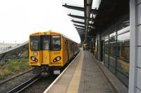 A Southport to Liverpool Central Merseyrail service formed by 508137 calls at Sandhills station on 15 September 2013.<br><br>[John McIntyre&nbsp;15/09/2013]