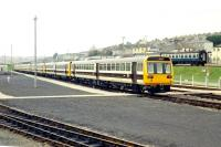 Newly delivered <I>Skippers</I> at Laira Depot, Plymouth, in December 1985, prior to entering service.<br><br>[Ian Dinmore&nbsp;21/12/1985]