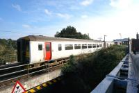 The 1600 Greater Anglia service to Sheringham leaves Hoveton and Wroxham station on 30 September.<br><br>[Bruce McCartney&nbsp;30/09/2013]