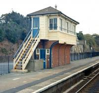 The signal box at Dawlish in the mid 1980s.<br><br>[Ian Dinmore&nbsp;//]