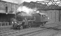Gresley V3 no 67651 recently released off an empty stock working from Newcastle Central, photographed at Heaton east loop on 15 June 1963, a year before its withdrawal from Gateshead shed.<br><br>[K A Gray&nbsp;15/06/1963]
