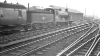 D34 4-4-0 no 62484 <I>Glen Lyon</I> at Carlisle on 1 July 1961 with the empty stock of the 12.25pm from Hawick.<br><br>[K A Gray&nbsp;01/07/1961]