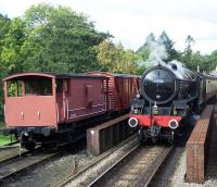 B1 61002 <I>Impala</I> with a train at Goathland on 5 October during the NYMR's <I>LNER Gala</I> weekend.<br><br>[Colin Alexander&nbsp;05/10/2013]