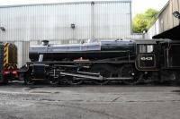 Black 5 45428 <I>Eric Treacy</I> photographed in Grosmont shed yard on 5 October 2013.<br><br>[Peter Todd&nbsp;05/10/2013]