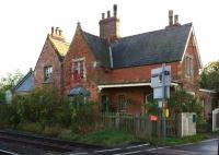 A station building which retains many of its original features following conversion to a private residence is Howsham, Lincolnshire, seen here on 9 October 2013.<br><br>[John McIntyre&nbsp;09/10/2013]