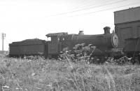 Collett 0-6-0 no 2239 stands alongside Aberystwyth shed on 13 August 1962. The locomotive had been withdrawn from Machynlleth some 3 months earlier.<br><br>[K A Gray&nbsp;13/08/1962]