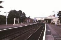 Platform view at Henley-in-Arden in September 1989 looking north towards Birmingham.<br><br>[Ian Dinmore&nbsp;/09/1989]