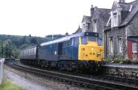 A summer Saturday in June 1986 sees 31405 at Eggesford with an Up train.<br><br>[Paul Stanford&nbsp;/06/1986]