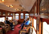 Interior of first-class 'Parlor' (sic) Car <I>Tambo</I>, named after the Tambo River, Victoria. Originally a sleeping car on the Adelaide to Melbourne service. Very civilized.<br><br>[Colin Miller&nbsp;22/05/2013]