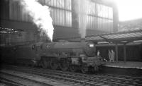 A relief summer Saturday working from Heads of Ayr to Leeds City prepares to leave Carlisle for the south on 1 August 1964 behind Holbeck Jubilee 45697 <I>Achilles</I>. <br><br>[K A Gray&nbsp;//]