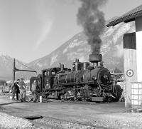 On 3rd October, Zillertalbahn No. 4 brews up outside Jenbach shed prior to working the 10:30 steam service to Mayrhofen. This loco was built for the Bosnian narrow gauge system by Krauss of Linz in 1909 and was repatriated to Austria from Jugoslavia in the late 1970s. It has been on hire to the Zillertalbahn since 1994 and is the most powerful loco available.<br><br>[Bill Jamieson&nbsp;03/10/2013]
