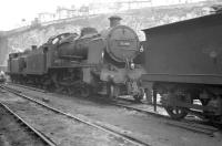 Maunsell U Class 2-6-0 no 31799 on shed at Brighton in August 1961.<br><br>[K A Gray&nbsp;14/08/1961]