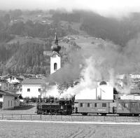No. 5�Gerlos�approaches Aschau station with the morning Jenbach to Mayrhofen steam working on 2nd October 2013. This 760mm gauge 0-6-2T was built by Krauss of Linz in 1930 as the only one of its type delivered to the ZB and is identical to �BB class 498, of which five out of the eight built also survive.<br><br>[Bill Jamieson&nbsp;02/10/2013]