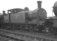 Reid N15 0-6-2T 69191 on the stored locomotive line at Boness Harbour in February 1962. 'Officially' withdrawn from Eastfield shed some  8 months after this photograph was taken, 69191 was cut up at Cowlairs Works in October 1962.<br><br>[K A Gray&nbsp;26/02/1962]
