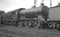 Gresley J39 0-6-0 no 64749 photographed on Ardsley shed on 8 September 1962, two months prior to withdrawal.<br><br>[K A Gray&nbsp;08/09/1962]