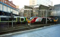 Three for the price of two - west end of Birmingham New Street, 26 January 2014.<br><br>[John Steven&nbsp;26/01/2014]