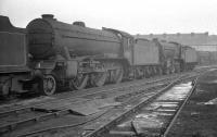 Condemned locomotives at Doncaster Works in February 1963 include 61819, withdrawn from Hull Dairycoates shed the previous December and cut up within a few days of this photograph.<br><br>[K A Gray&nbsp;24/02/1963]