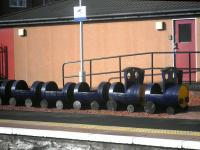A barrel train at Ayr on 11 February 2014, in this case a double-headed version, doubtless due to the additional power required on the Stranraer road...<br><br>[John Yellowlees&nbsp;11/02/2014]