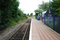 Looking north east to Bicester at the minimalist Islip station in 2009.<br><br>[Ewan Crawford&nbsp;06/ 0/2009]