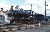 J36 0-6-0 no 65296 on its home shed at Eastfield in July 1961.<br><br>[John Robin&nbsp;/07/1961]