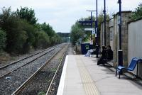View towards Oxford at Bicester Town in &#8206;2009. The line to the left is a reversing spur providing access to Central Ordnance Depot.<br><br>[Ewan Crawford&nbsp;06/09/2009]