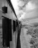 Photograph taken from the window of an Oban bound train heading west after leaving Tyndrum in the early 1960s.  [Ref query 2871]<br><br>[David Stewart&nbsp;//]
