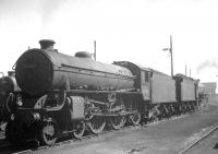 A pair of B1s in the shed yard at Thornton in the summer of 1966, with 61148 nearest the camera.<br><br>[K A Gray&nbsp;//1966]