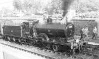 CR Pickersgill 3P 4-4-0 no 54465 at Whitecraigs on 27 May 1962 with a special to Beith. <br><br>[John Robin&nbsp;27/05/1962]