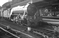York V2 2-6-2 no 60876 at Newcastle Central, thought to have been taken in 1963.<br><br>[K A Gray&nbsp;//1963]