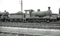 J36 no 65312 photographed on Carlisle Canal shed in the summer of 1962. Having spent the entire BR period based at Canal, the 0-6-0 was finally withdrawn from here in November 1962 and cut up at Inverurie Works four months later. <br><br>[John Robin 24/06/1962]