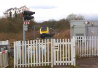 A First Great Westen HST bound for London Paddington passes the site of Chipping Campden station (closed 1966) between Evesham and Moreton-in-Marsh on 3 March 2014.<br><br>[John McIntyre&nbsp;03/03/2014]