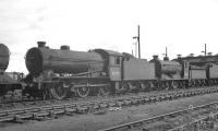Locomotives in the shed yard at Thornton Junction in 1966, with Gresley J38 no 65920 centre stage and Reid J37 no 64623 beyond.<br><br>[K A Gray&nbsp;//1966]