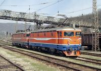 Standing at Doboj station on 15th March 2014 are two Bo-Bo electrics, Nos. 441.531 and 441.059, belonging to the ZRS. They are awaiting the arrival of train number 396, the Sarajevo to Zagreb express (possibly a bit of a misnomer as it consists of only three coaches and probably never exceeds 60mph), which they will take over from a similar loco of the ZBiH (Railways of the Federation of Bosnia and Herzegovina).  441.059 was detached at Banja Luka, leaving 441.531 to continue alone to Volinja in Croatia where the train was handed over to the HZ (Croatian Railways).	<br><br>[Bill Jamieson&nbsp;15/03/2014]