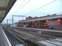 View south through Wakefield Westgate after removal of the south end footbridge, following opening of the new upside station building and new DDR footbridge at the north end of the station.<br><br>[David Pesterfield&nbsp;01/05/2014]