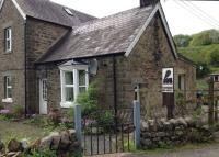 Part of the old station house at Newcastleton on 15 May 2014.<br><br>[Bruce McCartney&nbsp;15/05/2014]