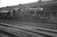Stanier 2-6-4T no 42469 in the sidings alongside Crewe Works following a visit in October 1961. The locomotive was eventually withdrawn from Heaton Mersey shed in May 1963, returning here for scrapping the following month.<br><br>[K A Gray&nbsp;01/10/1961]
