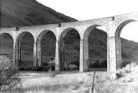A section of Glenfinnan Viaduct photographed in September 1961.<br><br>[David Stewart&nbsp;06/09/1961]